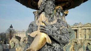 Paris, place de la Concorde et pont Alexandre III 0 02 18-14