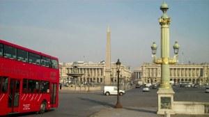 Paris, place de la Concorde et pont Alexandre III 0 01 17-06