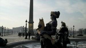 Paris, place de la Concorde et pont Alexandre III 0 02 46-03