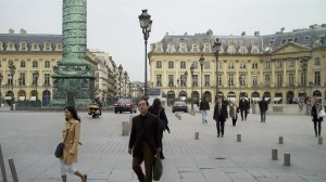 Paris, place Vendome, mars 2010 0 01 18-23