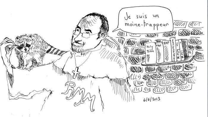moine trappeur 06062013